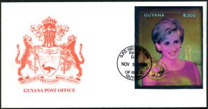 "Guyana 1998 ""1. Todestag Lady Diana"", Hologramm, MiNr Block 573"