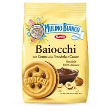 Baiocchi Mulino Bianco Biscuits Crème Noisettes Cacao Enveloppe 260 Gr Double