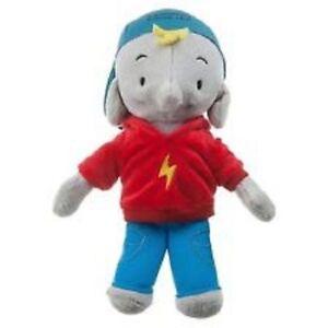 """Ella The Elephant Frankie Elephant Plush Soft Stuffed Doll Toy 9"""" tall"""