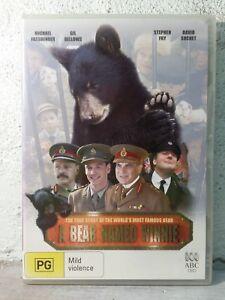 A BEAR NAMED WINNIE DVD Michael Fassbender - Australian Region 4