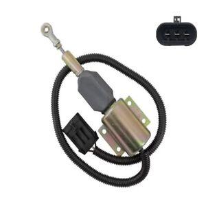 12V DIESEL SHUTOFF STOP SOLENOID 3990770 For Cummins engine Fuel Pump SA-4931-12