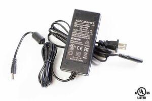 UL LISTED 9V 5A 45W AC adapter 100v-240v 5.5mm x 2.1mm DC plug LEDUPDATES
