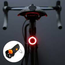 LED Bicycle Bike Cycling Rear Tail Light USB Rechargeable 3 Modes Lamp AU