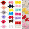 Baby Toddler Girls Kids Bunny Rabbit Bow Knot Headband Hair Band Headwrap Colors