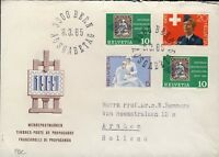SUISSE / SWITZERLAND / SCHWEIZ 1965 Special Issues set Mi.808/11 on FDC