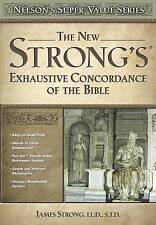 New Strong's Exhaustive Concordance by James H Strong (Hardback)