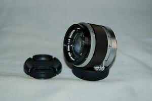 Canon 1.8 / 50 mm Rangefinder Lens. 39mm Screw Mount (LTM) Caps. 331786. UK Sale