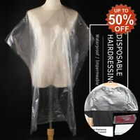 Long/Short Disposable Hair Cutting Cape Hair Cleaning Hairdressing Shawl Home
