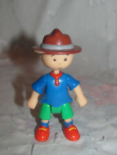 """Caillou Figure 3.5"""" With Scout Hat - Camping camper"""