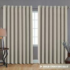 Blackout Thermal Insulated Curtain Panel Drapes Window Door Room Divider Blind