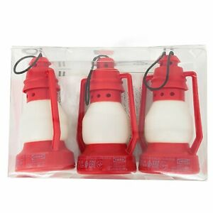 New VINTERFEST LED Decoration Lighting Red Lanterns Mini Ikea Set of 3 New