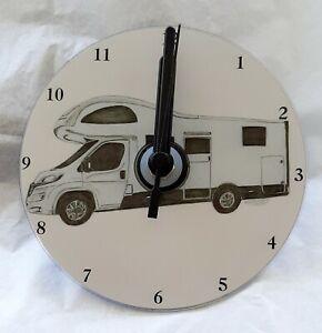Motorhome CD Clock by Curiosity Crafts