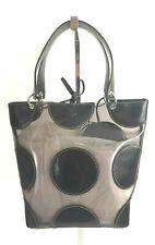 FUN kate spade new york Clear PVC Tote Bag w/ Black Leather Trim & POLKA DOTS