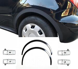 MERCEDES A W169 wheel arch trims 4 pcs Black front rear wing upgrade kit '04-12