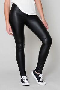 Skinny Lederhose GIPSY Gr 38 (M) Echtes Leder Lederleggings Oakwood