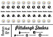 NFL - Pittsburgh Steelers - Waterslide Nail Decals  - 50 PC