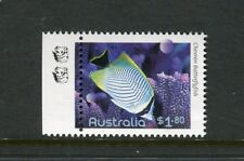 2010 Fishes of The Reef  MUH $1.80 Butterfly Fish - 2 Koala Reprint (Left)