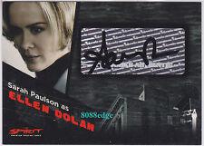 "2008 INKWORKS THE SPIRIT MOVIE AUTO: SARAH PAULSON #A3 AUTOGRAPH ""PEOPLE vs OJ"""