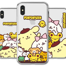 Genuine Pompompurin Clear Jelly Case iPhone 6/6S/iPhone 6/6S Plus made in Korea