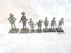 7 KS Pewter Collectible Soldiers
