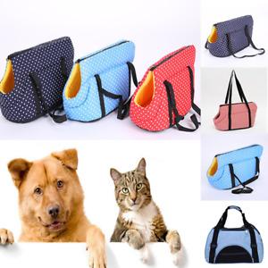 Puppy Mesh Sling Carry Pack Backpack Dog Carrier Travel Tote Shoulder Bag Supply