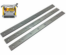 "12-1/2"" Planer Blades Knives for Dewalt DW734 planer replaces DW7342  3 Pack"