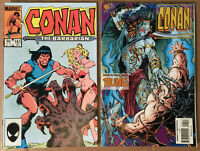 CONAN THE BARBARIAN LOT of 2 Marvel comics 1984 VF+/NM #161 & 1995 FN #4 RUNE