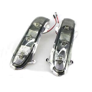 LH+RH Door Side Mirror Turn Signal Light For Mercedes Benz W220 W215 S500 S430