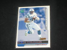 KEN DILGER COLTS GENUINE PACK PULLED AUTHENTIC FOOTBALL INSERT CARD RARE /85
