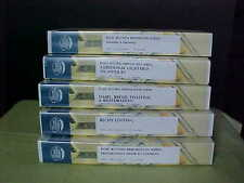 The Culinary Institute of Americas Food & Beverage Institute VHS Tapes 5 Total