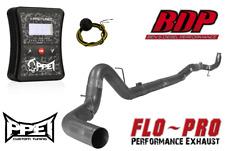 "2011-2015 6.6 LML Duramax PPEI Autocal DPF EGR Delete Tuner 5"" FLO PRO Exhaust"