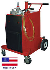 Gas Amp Fuel Caddy Commercial 30 Gallon Ul Amp Osha Approved Air Pump Operation