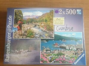 Ravensburger CUMBRIA 2 × 500 Piece Puzzles