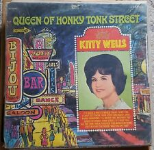 """Kitty Wells - """" Queen Of Honky Tonk Street """" - 1967 USA Promo LP - SIGNED."""