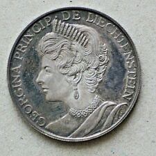 1970 Liechtenstein Medal,  Silver, 0.900/0.4275ASW, 35mm