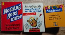 Minibücher Wörterbücher Englisch Deutsch Langenscheidt Reisebegleiter Übersetzer