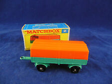 Matchbox Series By Lesney No.2 Mecedes Trailer with Canopy
