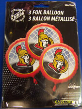 Ottawa Senators NHL Pro Hockey Sports Banquet Party Decoration Mylar Balloons