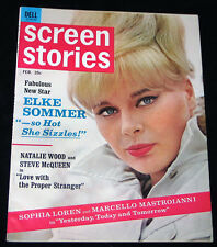 1964 Screen Stories ELKE SOMMER - MAUREEN O'SULLIVAN Tarzan (NM COPY)