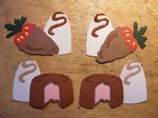 Sweet Chocolate Chocolates Birthday Treat Die Cuts (Card/Scrapbook)