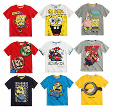 T-shirts et hauts pour garçon de 2 à 16 ans en 100% coton 12 ans