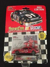 Nascar Stock Car Collectors card and display stand 1993 Geoff Bodine