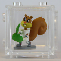 Cube-It Mini Figure & Cube SPONGEBOB Blind Box Series 1 - SANDY CHEEKS