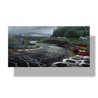 Nurburgring Racing Road Wall Art Poster Sports Car Track HD Print Canvas Decor