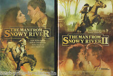 The MAN From SNOWY RIVER 1+2 DVD NEW AUSTRALIAN Tom Burlinson Sigrid Thornton R4