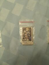 Us Postage 1980 Christmas Usa Epiphany Stained Glass 15c Pack of 10 used Stamps