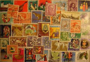 "Switzerland ""Semi-Postal Issues"" 225 Different Used"