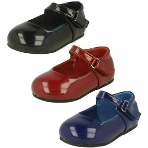 Sale Girls Spot On Casual Party Shoes H2R344