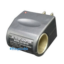 New Car 5W 110V-240V AC Wall Plug to 12V DC Cigarette Lighter Converter Adapter