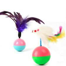 Cat Supplies Toys Feather Mouse Tumbler Plastic Toys Balls Cats Dog Pet Products